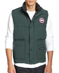 Canada Goose trillium parka online official - Canada goose Freestyle Vest in Red for Men | Lyst