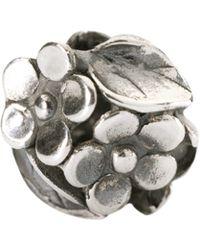 Trollbeads - Sterling Silver Mum's Bouquet Bead - Lyst