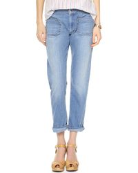 Seafarer Jellyfish Crop Jeans Light - Lyst
