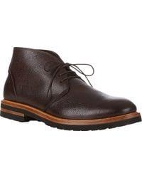 Elia Maurizi Scotch-grained Chukka Boots - Lyst