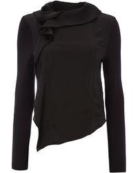 Mary Portas Jersey  Woven Mix Jacket - Lyst