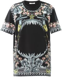 Givenchy Sharkprint Cotton Tshirt - Lyst
