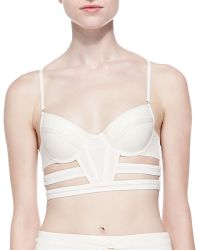 Sass & Bide - Any Given Time Bustier Top W Cutouts - Lyst