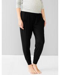 Gap Lightweight Modal Soft Pants - Lyst