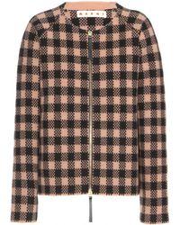 Marni Woolblend Jacket - Lyst