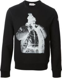 Moncler Photo Print Sweatshirt - Lyst
