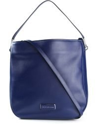 Marc By Marc Jacobs New Q Hillier Leather Cross-Body Bag - Lyst