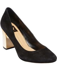 Dv By Dolce Vita Dollie Suede Pumps - Lyst