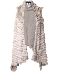 Jocelyn Gray Long Vest - Lyst