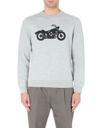 Marc By Marc Jacobs Motorcycle Jersey Sweatshirt - For Men - Lyst