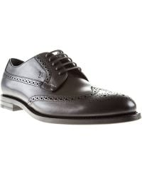 Tod's Brogue Shoes - Lyst