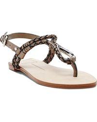 DV by Dolce Vita Flat Thong Sandals - Dixan Knot - Lyst