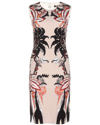 Roberto Cavalli Printed Jersey Dress - Lyst