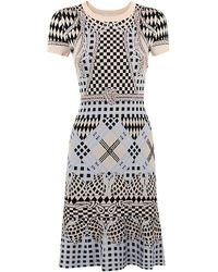 Temperley London Reef Fit And Flare Dress - Lyst