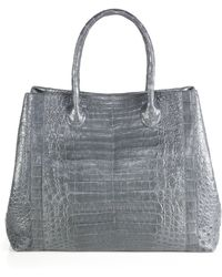 Nancy Gonzalez Large Crocodile Convertible Tote - Lyst