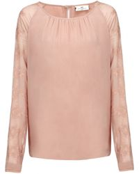 Day Birger Et Mikkelsen Day Stitch Top - Lyst