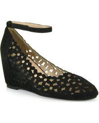 Jeffrey Campbell Delaisy - Suede Wedge - Lyst