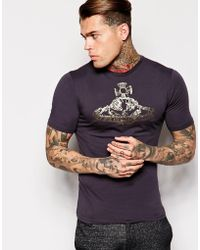 Vivienne Westwood Orb T-Shirt - Lyst