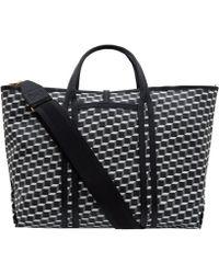 Pierre Hardy Large Black Cube Canvas Bag - Lyst