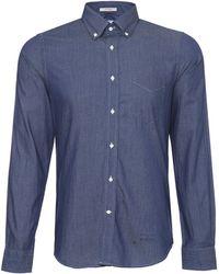 Gant Rugger Luxury Indigo Shirt - Lyst