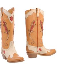 Ralph Lauren Collection Boots - Lyst
