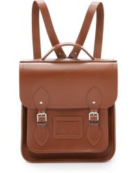 Cambridge Satchel Company - Small Portrait Backpack - Vintage - Lyst