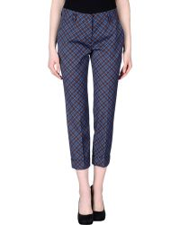 Prada 3/4-Length Trousers blue - Lyst
