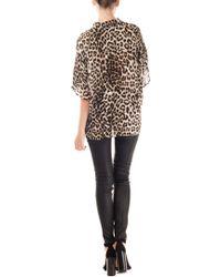 Rag & Bone Leopard Silk Saunders Shirt - Lyst