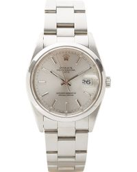 CMT Fine Watch And Jewelry Advisors - Vintage Rolex Date with Oyster Bracelet - Lyst