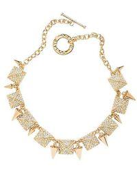 CC SKYE Heiress Necklace - Lyst