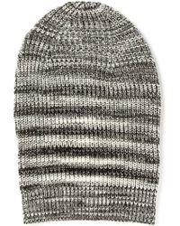 Missoni Crochet Knit Slouchy Beanie - Lyst