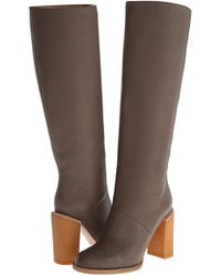 See By Chloé boots heel boots - Lyst