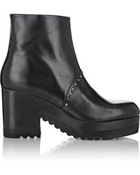 Thakoon Addition - Studded Platform Ankle Boots - Lyst