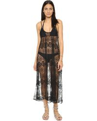 9seed - Tulum Lace Cover Up Dress - Lyst