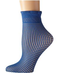 Wolford Blue Bastille Socks - Lyst