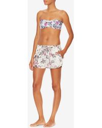 Onia - Orchid Print Short - Lyst