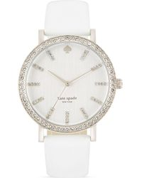 Kate Spade Metro Grand Pave Watch 38mm - Lyst
