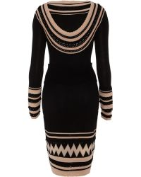 Temperley London Dina Fitted Dress - Lyst