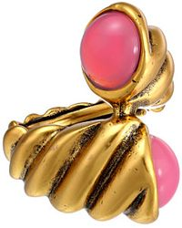 Oscar de la Renta Shell Ring - Lyst