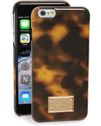 MICHAEL Michael Kors | Tortoiseshell Iphone 6 Plus & 6s Plus Case | Lyst