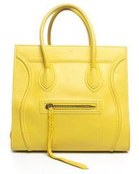 Celine Pre-owned Calfskin Phantom Luggage Tote Bag - Lyst