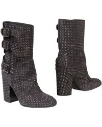 Laurence Dacade Gray Ankle Boots - Lyst
