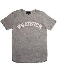 Cynthia Rowley Whatever T-Shirt - Lyst