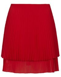 Topshop Sunray Pleated Skirt By Unique - Lyst