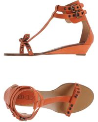 RED Valentino - Sandals - Lyst