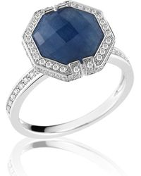 Ivanka Trump - Patras Blue Sapphire Octagonal Ring - Lyst