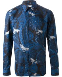 Givenchy Paisley Print Shirt - Lyst