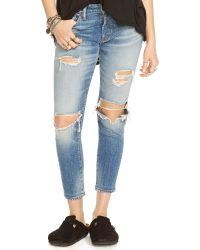 Denim & Supply Ralph Lauren Kayla Cropped Skinny Jean - Lyst