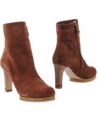 Chloé Ankle Boots - Lyst