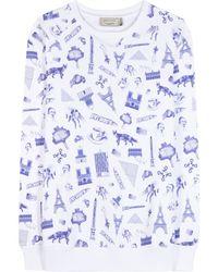 Maison Kitsuné - Cotton Sweater - Lyst